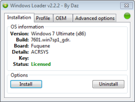 Activation Windows Loader