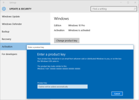 Enter a product key for Windows 10