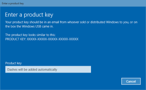 Windows 10 license key